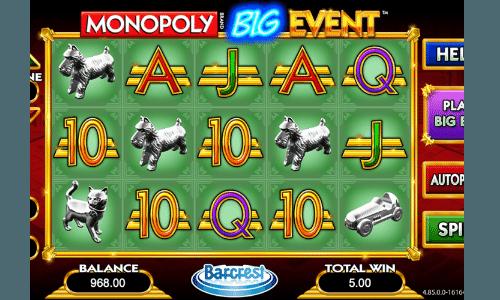 monopoly live gokkasten