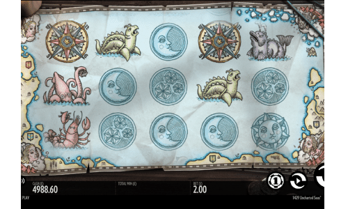 1429 Uncharted Seas gokkasten