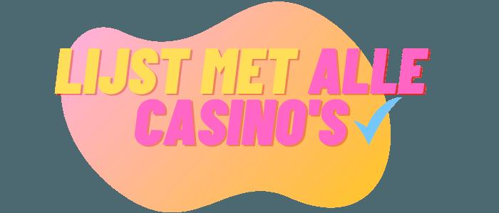 lijst met online casinos